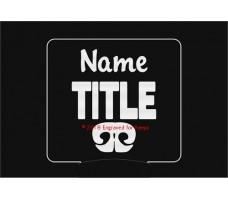 Nose Work Title Personalized Night Light