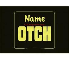 Obedience OTCH Title Personalized Night Light