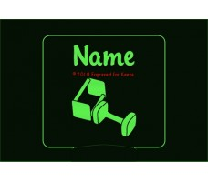 Obedience Personalized Night Light