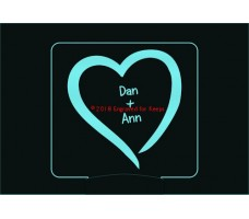 Sweethearts Personalized Night Light