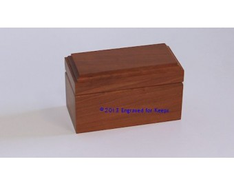 "Keepsake Box 2"" x 4"" Whole Lid Engraving"