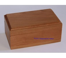 "Keepsake Box 3.25"" x 5.5"" Top Center Engraving"