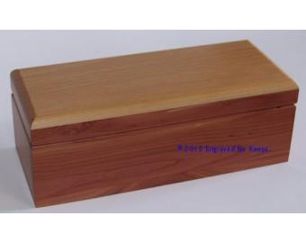 "Keepsake Box 4"" x 9.25"" Whole Lid Engraving"