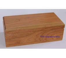 "Keepsake Box 5"" x 10"" Top Center Engraving"