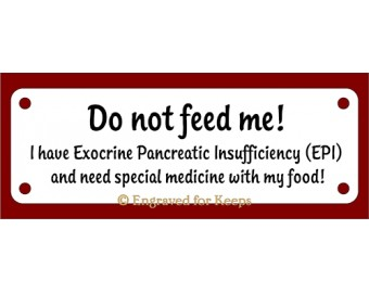Exocrine Pancreatic Insufficiency (EPI) Sign