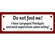 Laryngeal Paralysis Sign