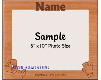 Obedience Award Personalized Custom Cut Picture Frame