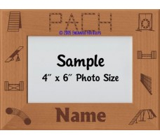 Agility PACH Award Personalized Picture Frame