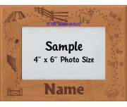 Agility - Herding Dog Personalized Picture Frame