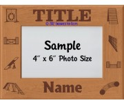Agility Title Award Personalized Picture Frame