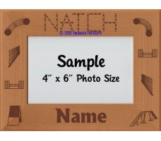 Agility NATCH Award Personalized Picture Frame