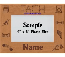 Agility TACH Award Personalized Picture Frame