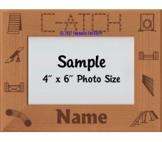 Agility CATCH Award Personalized Picture Frame