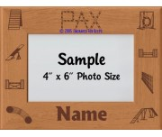 Agility PAX Award Personalized Picture Frame