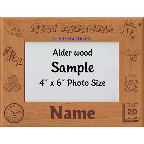 Baby New Arrival Personalized Picture Frame