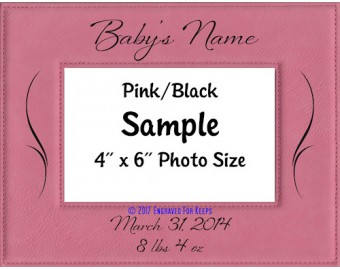 Baby Personalized Picture Frame