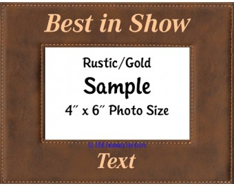Dog Show Awards Picture Frame