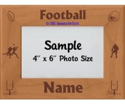 Football Personalized Picture Frame