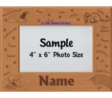 Ferret Personalized Picture Frame