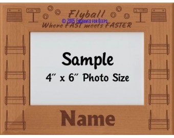 Flyball Personalized Picture Frame