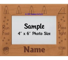 Flyball Dog Personalized Picture Frame