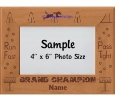 Flyball Dog FGDCh Award Personalized  Picture Frame