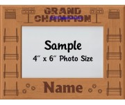 Flyball FGDCh Award Personalized Picture Frame