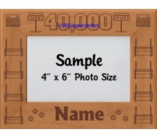 Flyball FGDCh 40000 Points Personalized Picture Frame