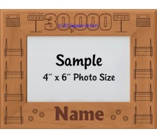 Flyball FGDCh 30000 Points Personalized Picture Frame