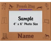 French Ring Personalized Picture Frame