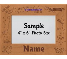 Herding Ducks & Geese Personalized Picture Frame