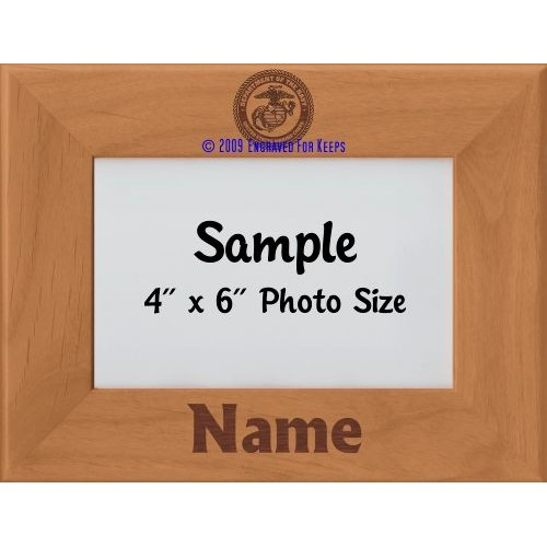 Marine Personalized Picture Frame