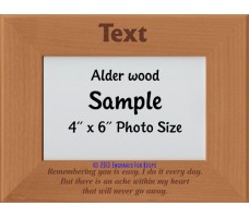 Remembering You is Easy Personalized Memorial Picture Frame