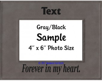 Forever in My Heart Personalized Memorial Picture Frame