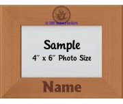 Navy Personalized Picture Frame