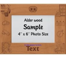 Nose Work Personalized Picture Frame