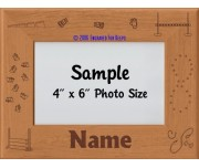 Obedience Dog Personalized Picture Frame