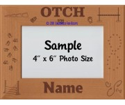 Obedience OTCH Award Personalized Picture Frame