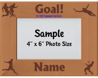 Soccer Personalized Picture Frame