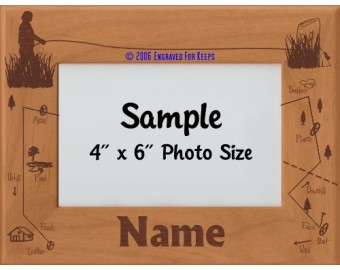 Tracking Dog Award Personalized Picture Frame