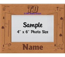Tracking TD Award Personalized Picture Frame