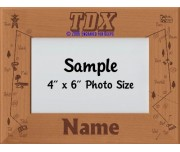 Tracking TDX Award Personalized Picture Frame