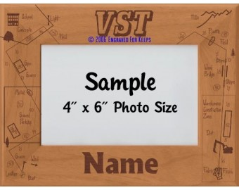 Tracking VST Award Personalized Picture Frame