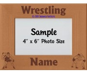 Wrestling Personalized Picture Frame