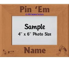 Wrestling Pin Em Personalized Picture Frame